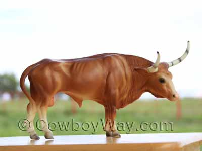 The Breyer Longhorn bull
