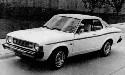 Cars and horses: A 1975 Dodge Colt