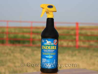 Endure Sweat Resistant Fly Spray for horses