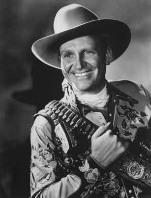 Photo of a smiling Gene Autry