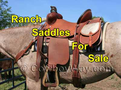 Ranch saddles for sale