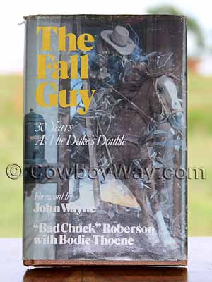 Book cover: The Fall Guy by Bad Chuck Roberson