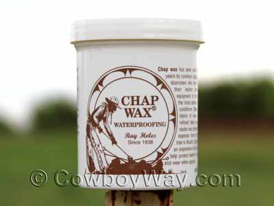 Chap Wax by Roy Holes container