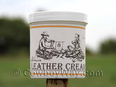 Skidmore's Leather Cream container