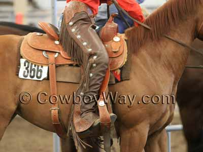 Show chaps with a smooth finish