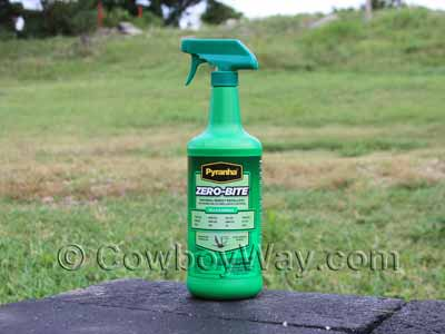 Pyranha Zero Bite natural fly spray for horses