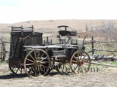 A chuckwagon