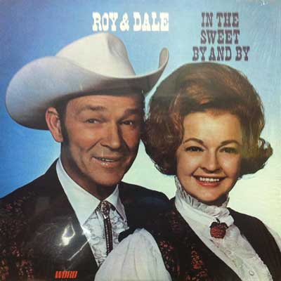 Roy Rogers and Dale Evans on an album cover